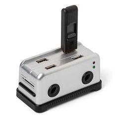 Toaster Shaped USB Hub and USB Flash Drives |Gadgetsin