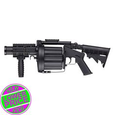 Multiple Airsoft and Paintball Grenade Launcher | Badlands Paintball Gear Canada