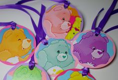 Care Bears tags