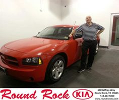 #HappyAnniversary to Dan St John on your 2008 #Dodge #Charger from Rudy Armendariz at Round Rock Kia!