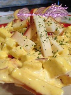 Sylvia Gasztro Angyal: Majonézes almás sajtsaláta Salad Recipes, Cake Recipes, Food 52, Macaroni And Cheese, Food And Drink, Cooking Recipes, Tasty, Tableware, Health