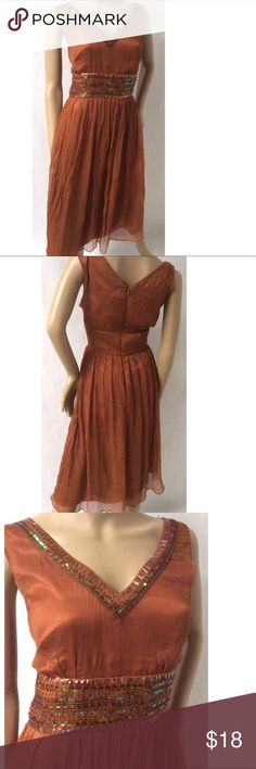 Spenser Jeremy Dress Size 12 silk. length 45 bust 36 Spenser Jeremy Dresses