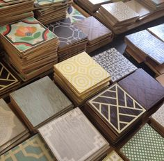 Peel And Stick Stair Risers & Floor Tiles (And Pretty Wood Floor Tiles Too!)   The Lettered Cottage