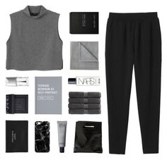 """""""just breathe"""" by kiiaa ❤ liked on Polyvore featuring Monki, NARS Cosmetics, Vellux, Christy, Casetify, Ex Voto Paris, Marie Turnor, Acne Studios, Christian Dior and women's clothing"""
