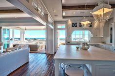 Comfy coastal living room decorating ideas (51)