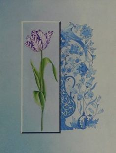 Rock Flowers, Islamic Patterns, Turkish Art, Arabic Art, Painting Lessons, Islamic Art, Art Boards, Flower Art, Folk Art