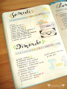 Daily Log - Bullet Journal : 1er bilan !