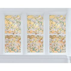 Brewster Home Fashions Premium Window Film, Dogwood 24