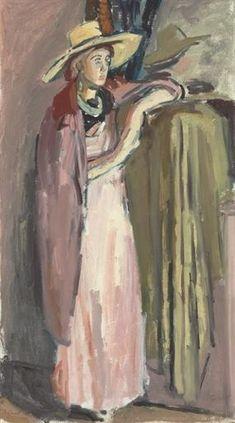 VANESSA BELL by Duncan Grant, 1930