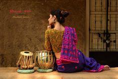 Buy here ~ http://shop.gaatha.com/shop-phulkari-sarees-online  Whether it was Baisakhi, Lohdi, Holi, Gurupurab, Janmashtmi or just another day a Punjabi felt like some Dhol and Bhangda, Phulkari was always around dancing Gidda…  #handwork #celebratinggsaree #sarees #handloom #Silk #buyonline #festive #gaatha #phulkari