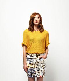 Saia Curta Versatile Amarelo Seara