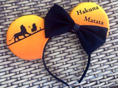 The Lion King Inspired Mouse Ears  by GwizzyEars on Etsy