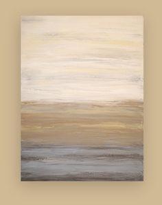 Abstract Acrylic Painting Original Art Shabby by OraBirenbaumArt, $365.00