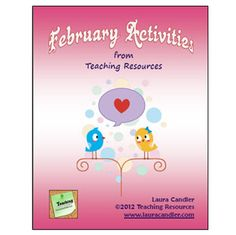 How generous of her!:) Need engaging activities for February? This 25-page packet offers ready-to-use lessons and activities for February that foster higher level thinkin...