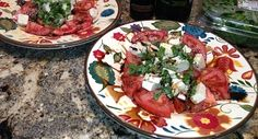 This is one of my favorites. It's quick and elegant. Caprese Insalata - Italian - Recipes - CanIEatHere.com For recipe, click here: http://www.canieathere.com/recipes/italian/caprese-insalata