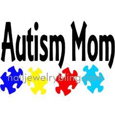 Ausome Mom Decal Autism Awareness Vinyl Decal Autism Car - Custom vinyl decals australia