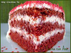 Hoy Cocinas Tú: Red Velvet Cake de San Valentín