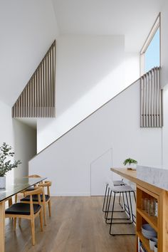 Tess + JJ's House by po-co Architecture – Project Feature Modern Home Interior Design, Scandinavian Interior Design, Luxury Homes Interior, Modern House Design, Interior Architecture, Architecture Awards, Scandinavian Style, Room Interior, Decoration Shop