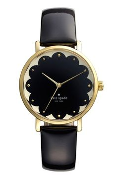 kate spade new york 'metro' patterned dial watch | Nordstrom | Anniversary Sale