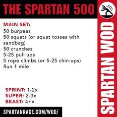 THE SPARTAN 500