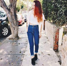 Bana kızılı sevdiren kadın...instagram hesabı : luanna90