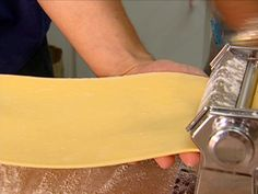 Ravioli Dough recipe from Tyler Florence via Food Network