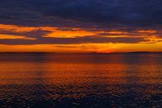 Sunrise at Charleston Harbor