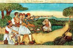 Το νέο νηπιαγωγείο που ονειρεύομαι : Πίνακες ζωγραφικής για την επανάσταση του 1821 Greek Independence, National Days, Gallery, Painting, Revolution, Art Ideas, March, Artists, School