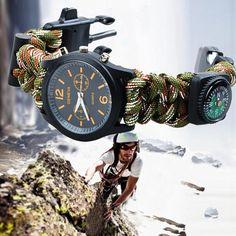 Now trending: Outdoor Survival Bracelet Wrist Watch And Compass http://zefashionnation.com/products/outdoor-survival-bracelet-wrist-watch-and-compass?utm_campaign=crowdfire&utm_content=crowdfire&utm_medium=social&utm_source=pinterest