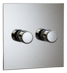 Nickel Silver Light Switches by FORBES & LOMAX