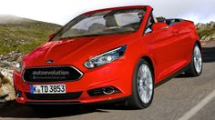 #2014 #Ford #Focus #Cabrio Looks Good, But Unlikely to Happen