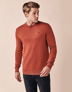 Men's Foxley Crew Neck Jumper from Crew Clothing Company