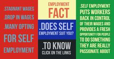 Does self employment suit you? Want to know :http://bit.ly/2EFRlvL Reference : http://bit.ly/2CzDZ29