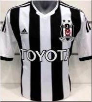 Beşiktaş'ın yeni çubuklu forması