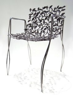 Phul Chair By Mann Singh In Brass And Stainless Steel