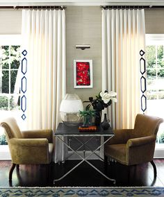 Pacific Palisades Perfection by Jeffrey Alan interior decorating before and after house design Curtain Styles, Pacific Palisades, Living Spaces, Living Room, Drapery Panels, Interior Decorating, Interior Design, Interior Exterior, Soft Furnishings