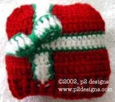 Charity Pattern - Preemie Present Hat & Easy DC Booties (crochet)