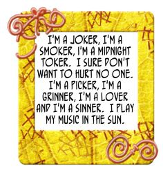 Steve Miller Band - The Joker. The year this was out was 1990. Never liked this song, think it was number one for a while too!