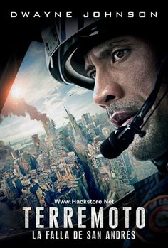 Poster de Terremoto: La Falla de San Andres (2015) Blu-Ray RIP HD Latino