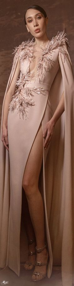 Zuhair Murad, Evening Gowns, Catwalk, Ready To Wear, Glamour, Elegant, Spring, How To Wear, Fashion Design