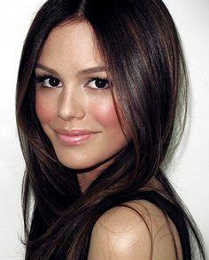 rachel bilson's  natural makeup look