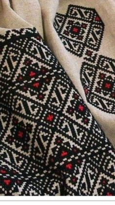 Ukraine, ♥ , from Iryna Folk Embroidery, Embroidery Fashion, Cross Stitch Embroidery, Embroidery Patterns, Cross Stitch Patterns, Cross Stitch Cushion, Palestinian Embroidery, Ethnic Patterns, Yarn Projects