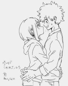 Hello this will for izuocha shippers who just want some brightness in… Romance illustrazioni My Hero Academia Memes, Hero Academia Characters, My Hero Academia Manga, Anime Characters, Anime Couples Drawings, Couple Drawings, Cute Anime Couples, Anime Amor, Deku X Uraraka