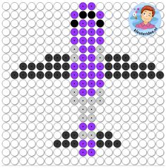 Busy Boxes, Diy Perler Beads, Lego, Letter D, Kindergarten, Bad Food, Learning Resources, Beading Patterns, Pixel Art