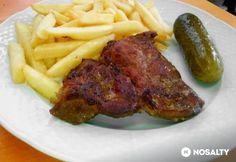 Pácolt sertéstarja Steak, Vitamins, Protein, Food And Drink, Pork, Kale Stir Fry, Pigs, Vitamin D, Pork Chops