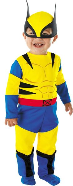 Baby Wolverine Costume - Party City  sc 1 st  Pinterest & Baby Wolverine - Halloween Costume Contest at Costume-Works.com ...