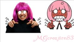 """I'm so angry!"" Hacker girl make with Gimp by MGCreation83 - Crochet time with Giulia"