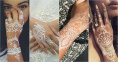 Best White Mehndi Designs
