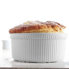 To encourage the soufflé to climb up the sides of the dish, grease the dish with butter and sprinkle it with sugar. The sugar prevents the soufflé from sticking to the sides. Classic French Desserts, French Dessert Recipes, French Recipes, French Food, Kitchen Aid Recipes, Gourmet Recipes, Frozen Desserts, Fun Desserts, Elegant Desserts