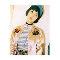 """#NYLON 掲載 @ashley_yuka  heartcross choker ¥4,000  #HONEYMIHONEY #HONEYMIHONEYACCESSORY #accessories #水原佑果"""